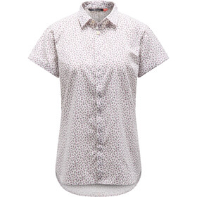 Haglöfs Idun SS Shirt Damen acai berry flower